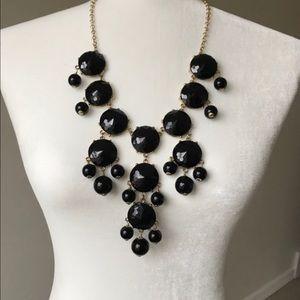 'Francesca's' Black Bubble Necklace